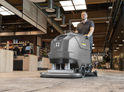 tennant floor cleaning machines, tennant floor sweeper, reconditioned floor cleaning equipment, pre owned tennant cleaning machines, tennant industrial ride on floor scrubber, Tennant commercial floor scrubbing machine