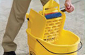 Looking for a scrubber to replace a traditional mop & bucket?