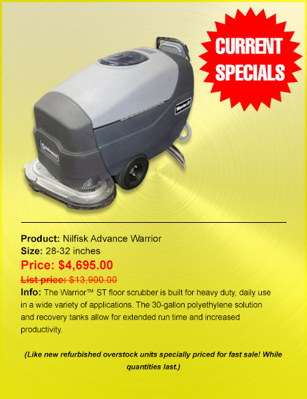 Priced Right Cleaning Equipment Floor Scrubbers Floor