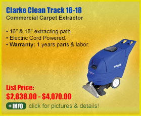 Clarke Cleantrack 18