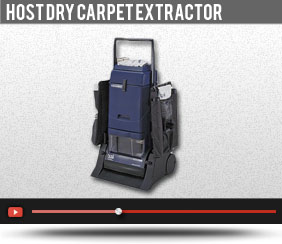 HOST DRY CARPET EXTRACTOR