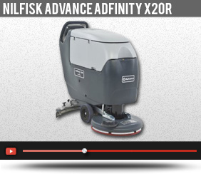 advance adfinity x20r parts manual