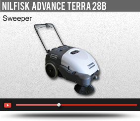 Nilfisk Advance Terra 28B Sweeper